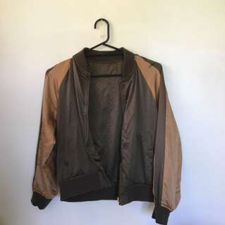 2 in 1 Reversible Bomber Jacket Size S