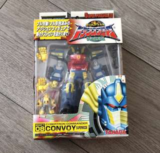 TAKARA 變形金剛figure Convoy Supermode