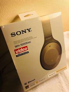 Brand New Sony WH 1000XM2 headphones