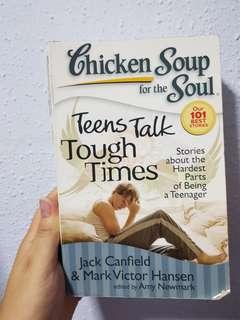 Chicken soup teens talk tough times