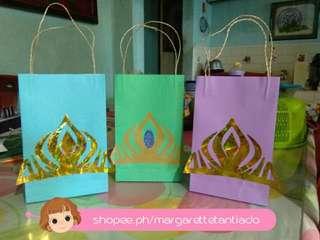 Elsa's crown loot bag