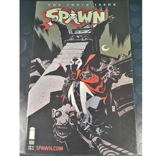 Spawn #100D Mike Mignola Cover