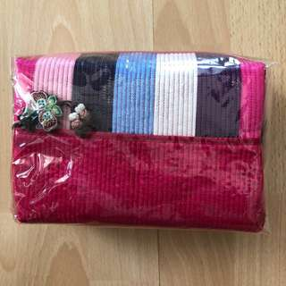 Korean Fabric Cosmetic Pouch (New)