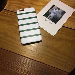 🚚 綠條紋手機硬殼