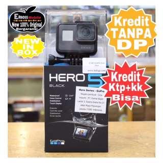 GoPro Hero 5 Black Resmi Cash/kredit ditoko tanpa dp ktp+kk bisa Wa;081905288895