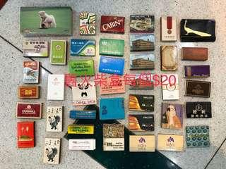 8 90年代 各款有火柴$20/盒
