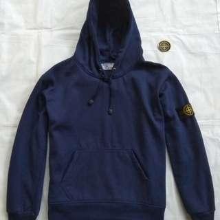stone island casual zip hoodie size Xl kw