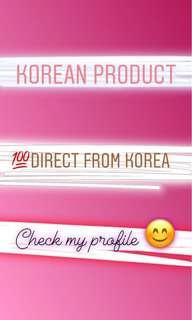 Korean Beauty Product