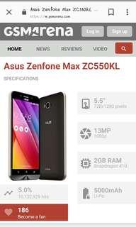 Asus zenfone max 2