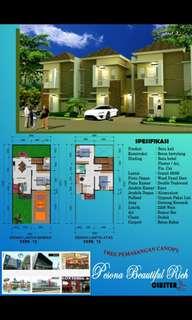 Rumah Minimalis 2 lantai di Kota Depok Tanpa DP