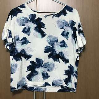 Floral Tropical Top