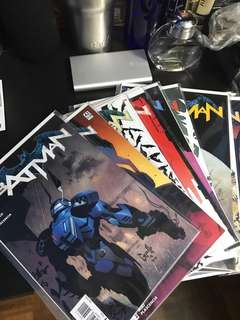 Batman new 52 issue 41 to 52