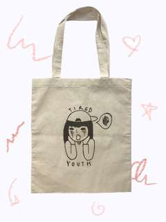 Tired youth tote bag (warehouse)