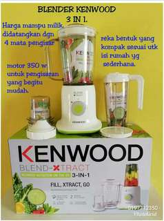 Kenwood x-tract Blender