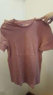 Topman old rose shirt