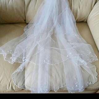 結婚頭紗 wedding veil 👰🏻