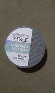Colored hair wax by Penshoppe