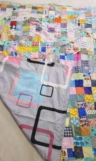 Homemade Patchwork Quilt