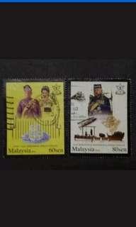 Malaysia 2010 Pahang Loose Set - 2v Used Stamps