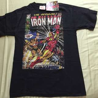 Marvel The Invincible Iron Man Comic Cover T-shirt