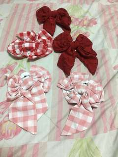 Ribbon haircilp