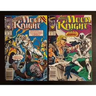 Moon Knight #10 & #11 (1990) Set of 2 Books