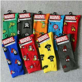 Marvel DC Mini Superheroes Iconic Socks