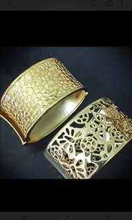 Estee Lauder Gold Bangle