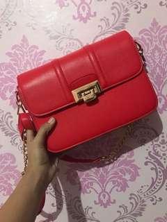 VNC Sling Bag Merah