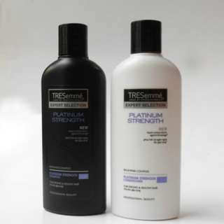 TRESEMME PLATINUM STRENGTH Shampoo and Conditioner 170ml