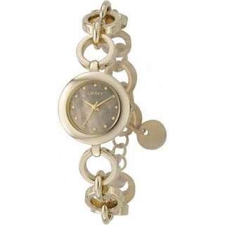 DKNY Gold Chain Watch NY-4874