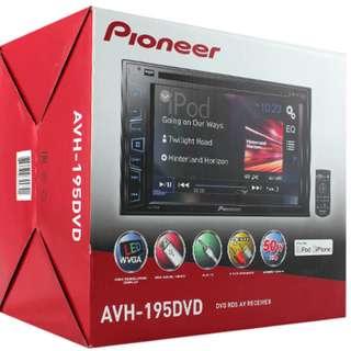 CAR AUDIO PROMOTION HARI RAYA -PIONEER AVH 195 DVD