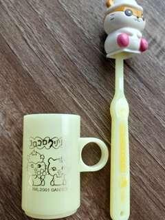 Sanrio Corocorokuririn CK鼠 牙擦套裝