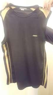 Bossini black sleeveless sports shirt