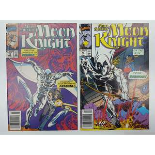 Moon Knight #12 & #13 (1990) Set of 2 Books