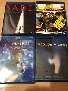 George Michael imported Bluray -region A