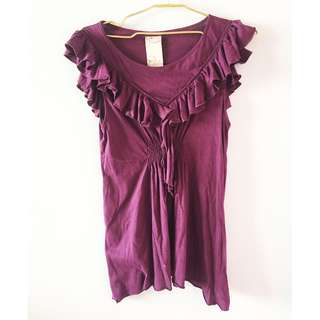 Zara Purple Blouse