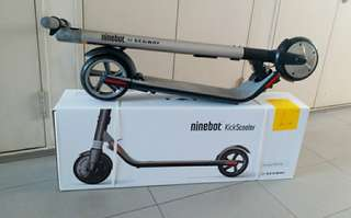 Free same day delivery - LTA COMPLIANT  Segway Ninebot ES2 electric kick scooter
