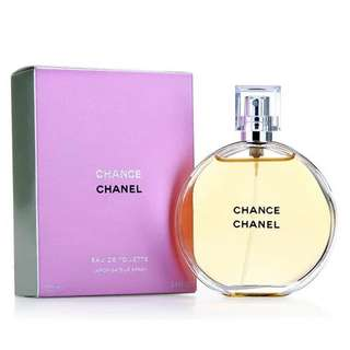 CHANEL CHANCE EDT FOR WOMEN (50ml/100ml/150ml/Tester) Eau de Toilette Pink