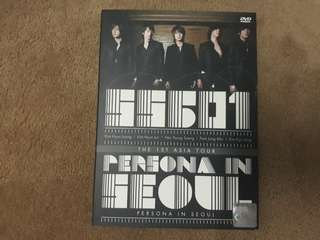 [SS501] 1st Asia Tour - Persona In Seoul