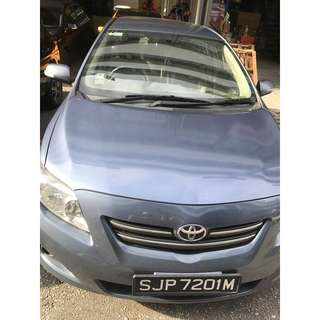 Toyota Vios for Weekend rental (fri-mon). 81448833/ 81450033