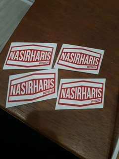 Nasir Haris Motovlog Sticker