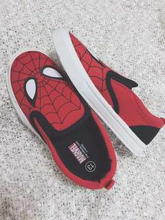 Boy's Spiderman Slip-on Shoes