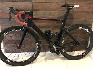 Canyon aeroad slx frameset and groupset