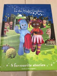 In the night garden story book