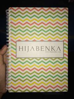 Notebook Hijabenka