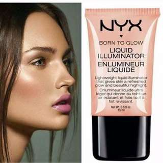 NYX Cosmetics Born to Glow Liquid Illuminator (Gleam)