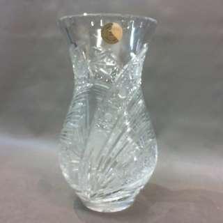 BOHEMIA斯洛特系列捷克手工水晶玻璃花瓶/高18cm