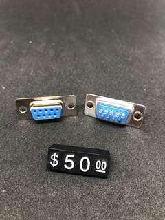 🚚 9P D型焊線母接頭