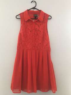 Alice In The Eve Red Dress Size 12